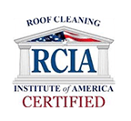 Roof Cleaning Institute of America Certified
