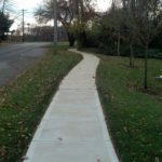 Path Way after Power wash
